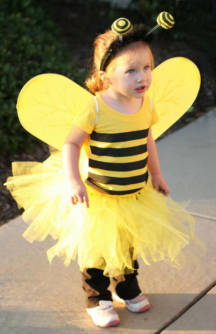 Костюм пчелка для девочки своими руками