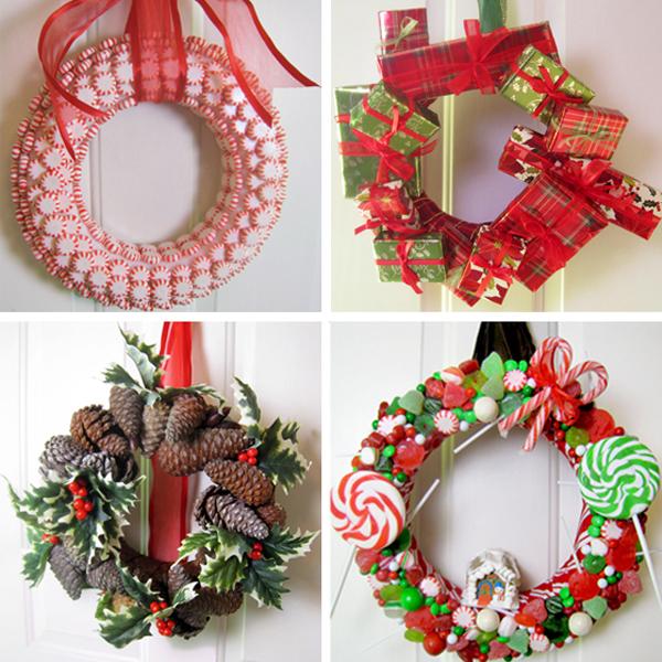 Рождественские венки. Из чего сделать рождественский венок своими руками?