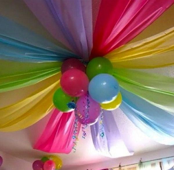 Фото как украсить комнату на день рождения