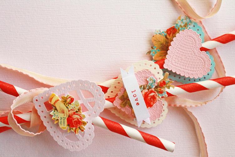 Трубочки для коктейлей. Как украсить трубочки для коктейлей своими руками ко Дню Святого Валентина?
