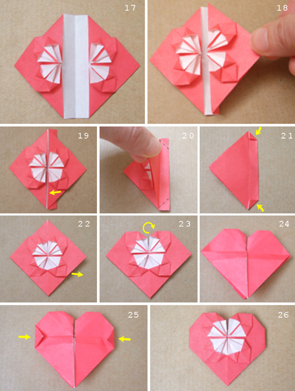 Романтическое сердце своими руками 56