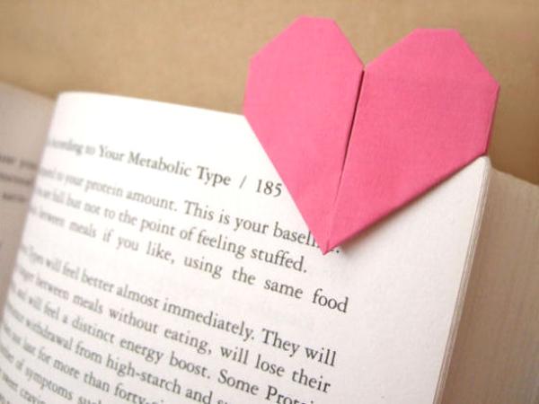 Как сделать из бумаги открытку с сердечком