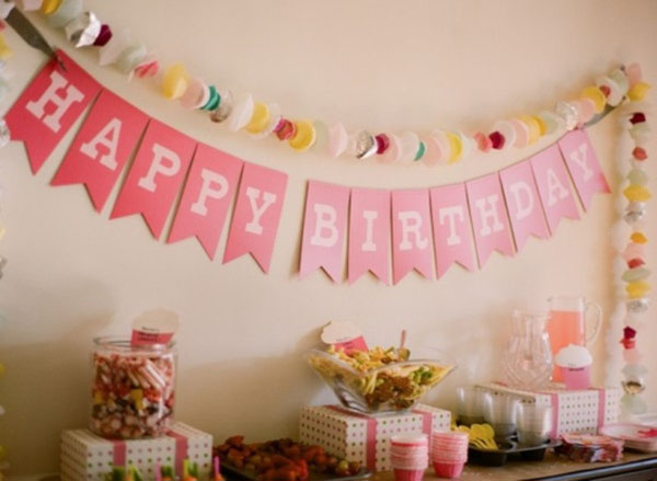Украшения комнаты своими руками на день рождения