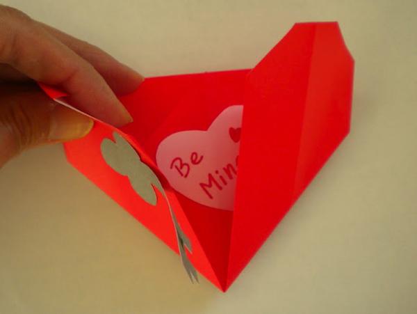 Сердечко из бумаги. Как сделать сердечко из бумаги?