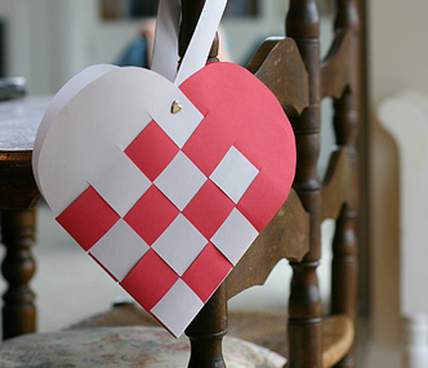Романтическое сердце своими руками 80