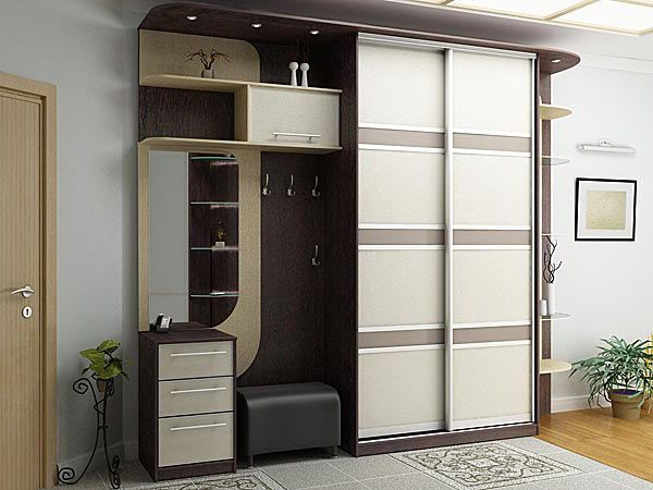 Шкаф купе в прихожую - это практичная, стильная мебель