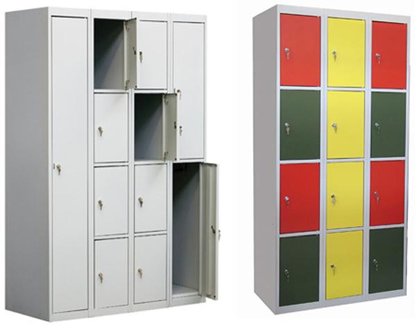 Металлические шкафы: для одежды, документов и ценных вещей