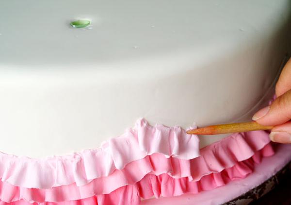 Украшение из мастики на торт как сделать в домашних условиях