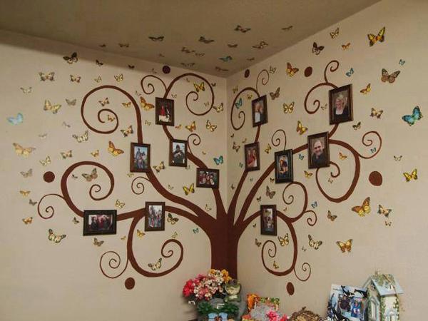 Как разместить фотографии на стене: оригинальные идеи, фото и видео советы