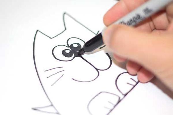 Как рисовать буквы по клеточкам в альбоме
