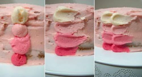 Как украсить торт пошагово