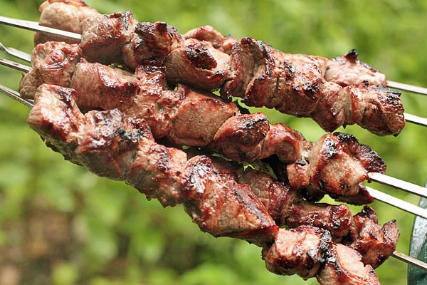 как сделать шашлык из свинины сочный