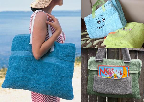 Шить сумку на пляж своими руками