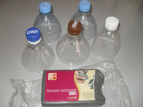Барышня из бутылки своими руками