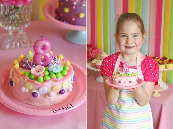 Торт на пять лет девочке своими руками 43