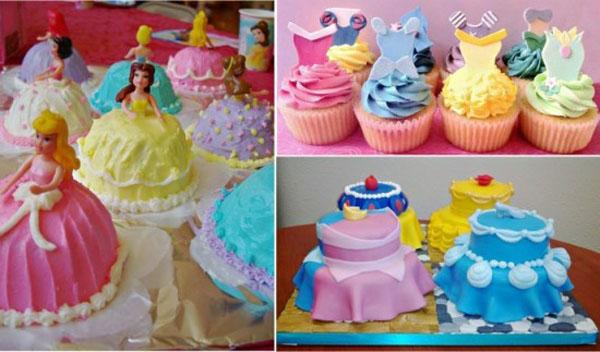 Украшение торта для девочки