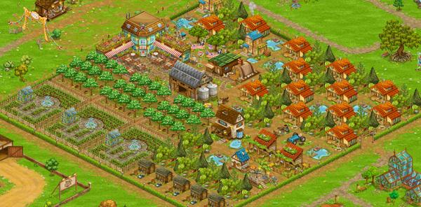 Big Farm (Большая ферма) - возможность играть бесплатно онлайн