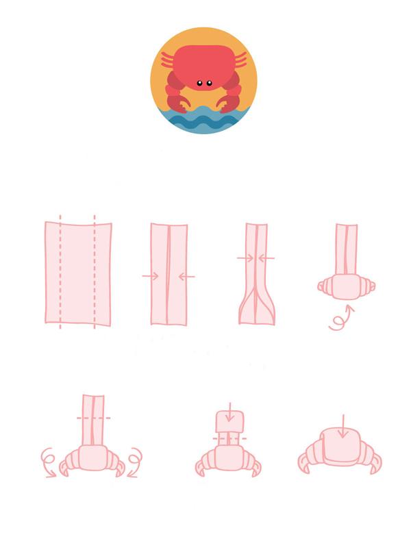 Как сложить полотенца в фигуры схемы
