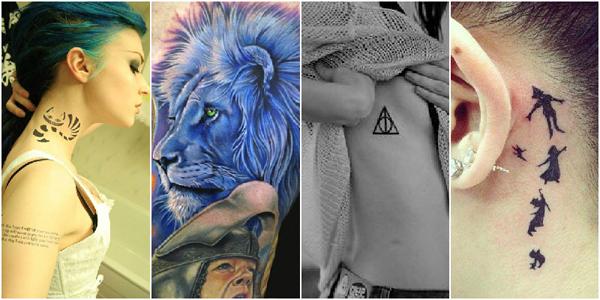 Тату для девушек: модные татуировки для девушек