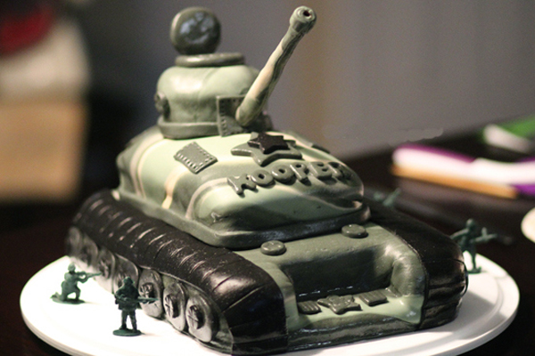 Торт танк: как сделать торт танк своими руками?
