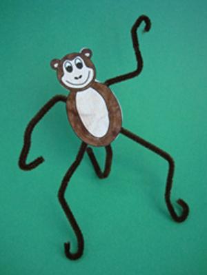 Как обезьяну сделать своими руками