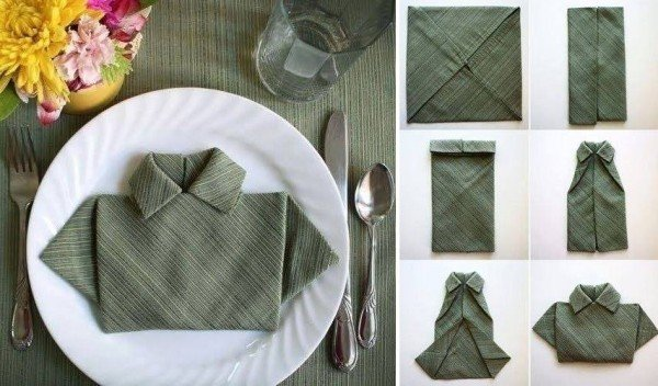 Как сложить салфетки? Как украсить стол салфетками?