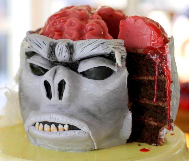 Новогодний торт 2016: торт Обезьяна своими руками