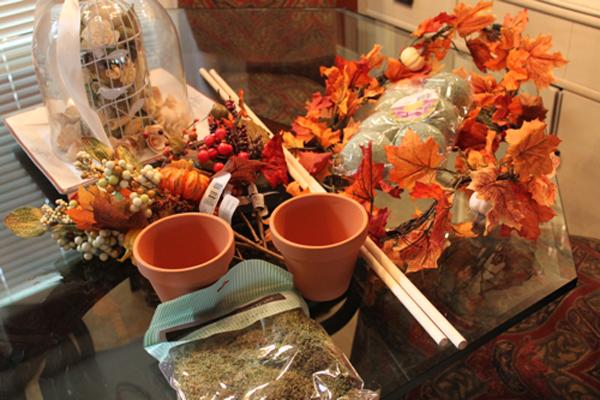 Топиарий из осенних листьев: топиарий из осенних листьев своими руками