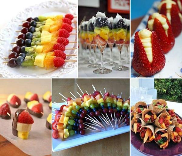 Детское меню на День Рождения: десерты для детей