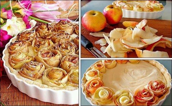 Шарлотка с яблоками: Как украсить шарлотку?