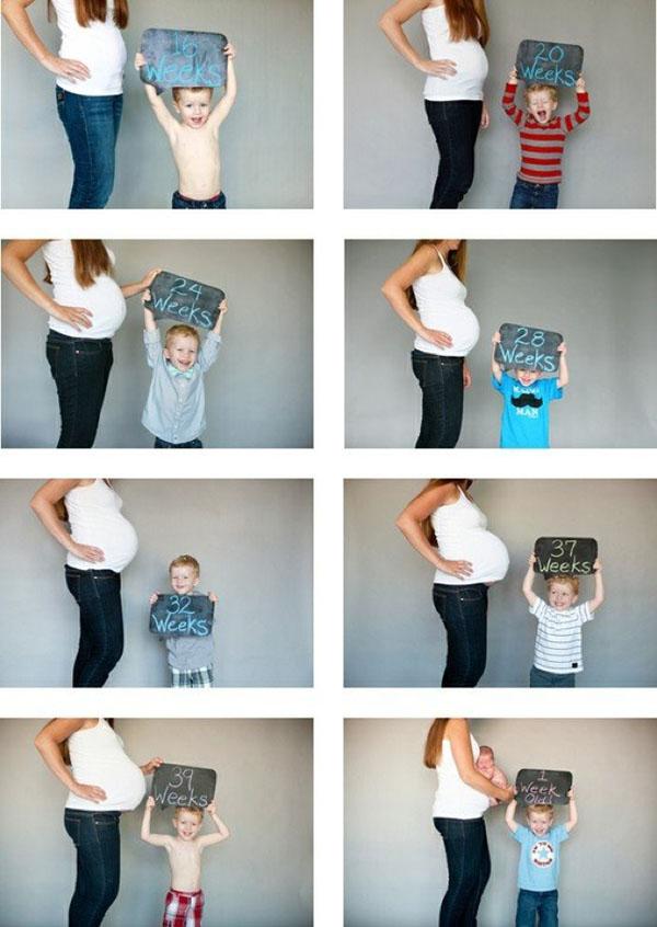 Идея фотосессии для беременных фото