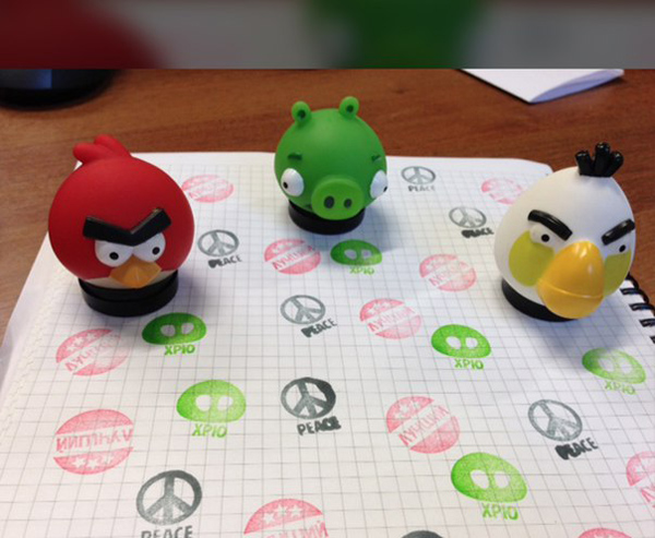 Бургер Кинг (Burger king) игрушки 2015: птички Энгри Бердс (Angry Birds)