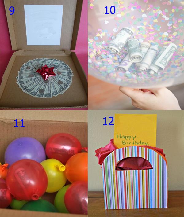 Идеи оригинального вручения подарка на день рождения 51