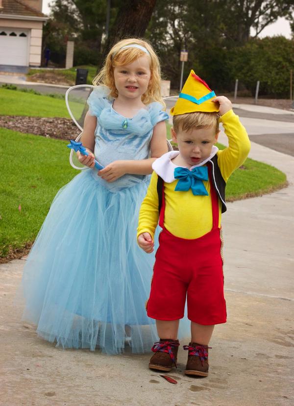 Костюм пиноккио своими руками