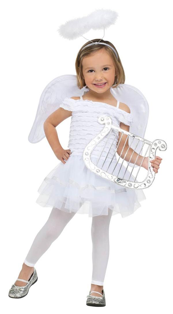 Костюм ангелочка на новый год своими руками