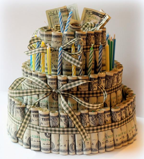 Торт из денег. Торт из денег своими руками