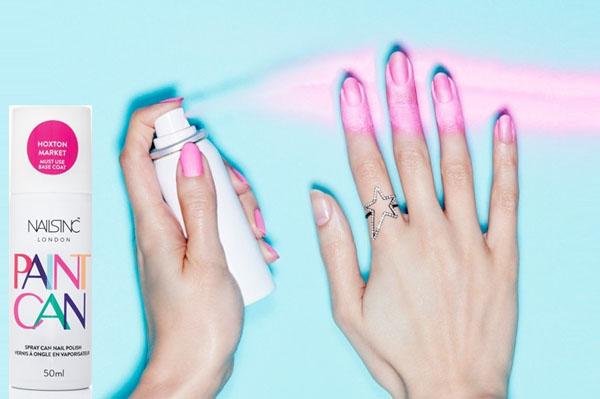 Лак спрей для ногтей: как красиво накрасить ногти