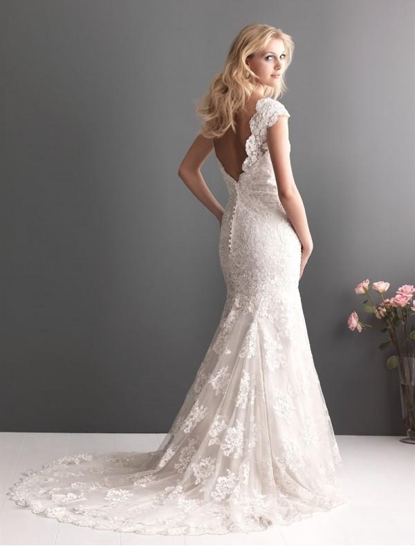 Свадебное платье рыбка: фото. Свадебное платье русалка: фото
