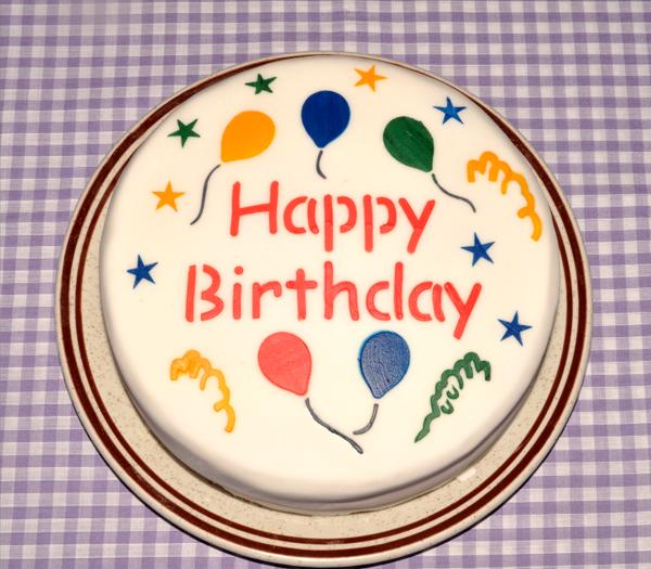 Шаблоны надписи с днем рождения на тортах