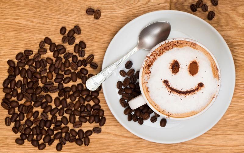 Трафареты для кофе: рисунки на кофе своими руками