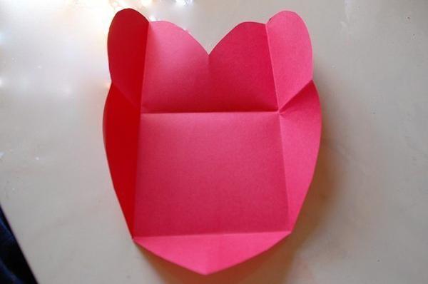 Как сделать конверт с цветами