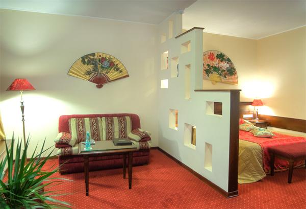 Однокомнатная квартира в двухкомнатную: гостиная спальня
