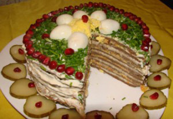 Торт печеночный. Как украсить печеночный торт?