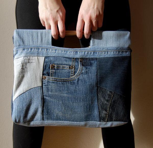 Рюкзаки и сумки из старых джинсов своими руками фото 403