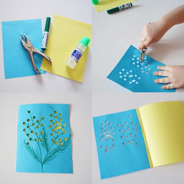 Легкие открытки для детей 16