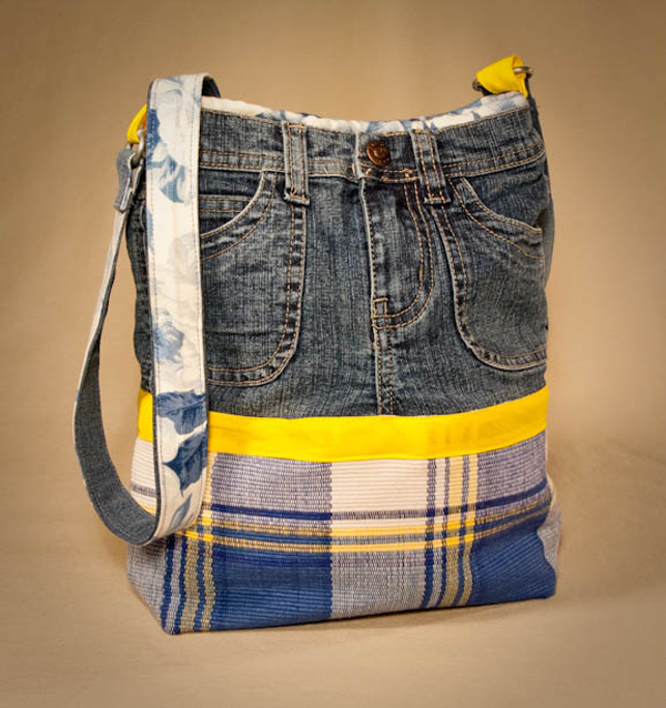 Сумочки из джинс своими руками
