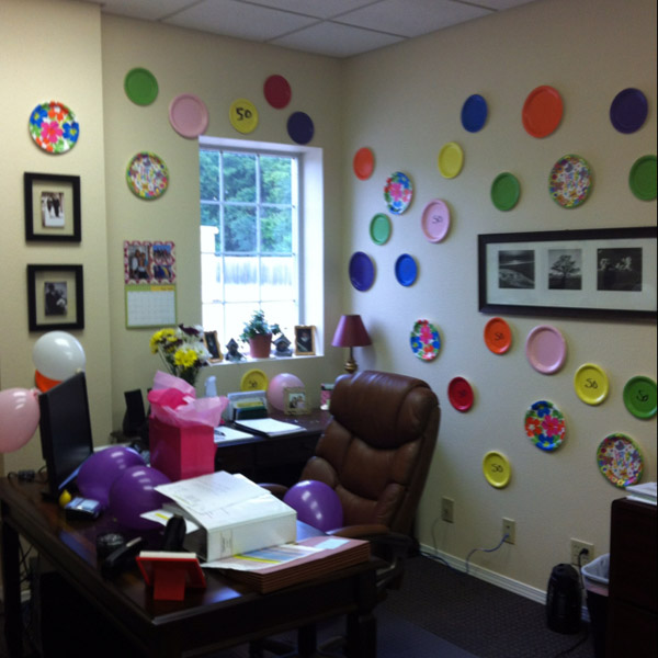 Украсить кабинет начальника своими руками на день рождения