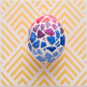 Пасхальные яйца. Пасхальные яйца с мозаикой