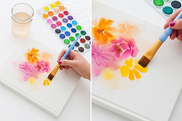 Рисуем картину своими руками поэтапно