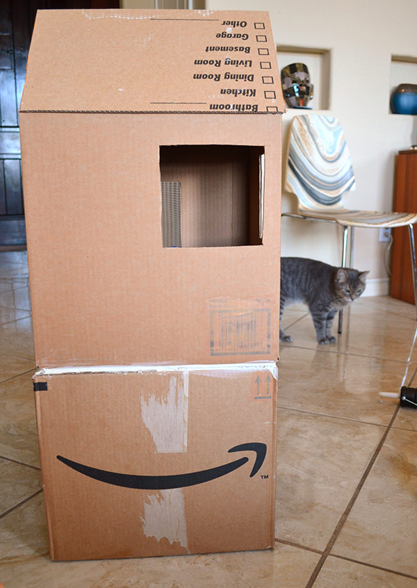 Домик для кота. Домик для кота своими руками